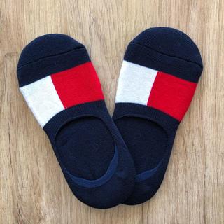TOMMY HILFIGER - 2足セット トミーヒルフィガー ノーショーソックス 靴下