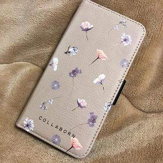 コラボーン iPhone7 ケース 花柄(iPhoneケース)