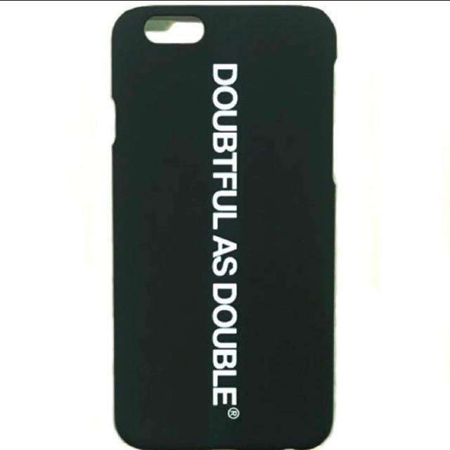DOUBTFUL AS DOUBLE iPhoneケース ブラック 新品未使用の通販