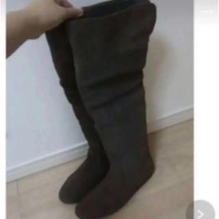アナザーエディション(ANOTHER EDITION)の高級ブーツ スエード Mサイズ(ブーツ)