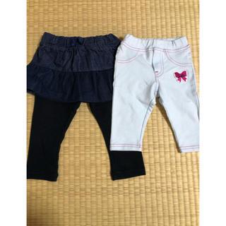 アカチャンホンポ(アカチャンホンポ)の女の子★パンツ2枚セット★サイズ80(パンツ)