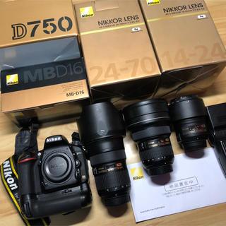 Nikon - ニコン D750 フルセット