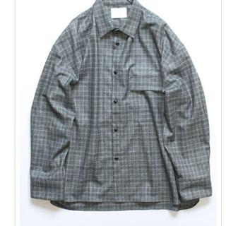 SUNSEA - stein グレンチェックシャツ sサイズ