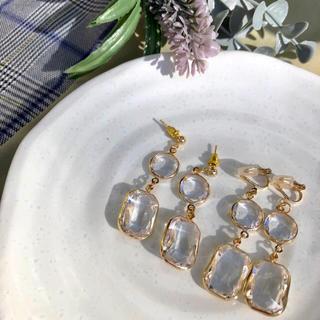 エイミーイストワール(eimy istoire)のcrystal pierce earring エイミーイストワール好きな方に是非(ピアス)