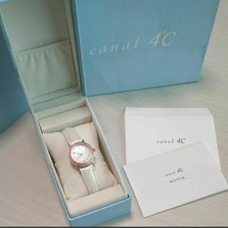 canal4℃ - 【美品】canal4℃‧✳10月誕生石 腕時計