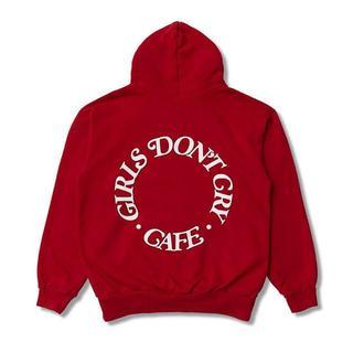 GDC - 最安値!【Girls Don't Cry】GDC Cafe パーカー 赤