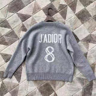 """クリスチャンディオール(Christian Dior)の【Dior】2019/20AW新作 """"J'adior 8"""" 刺繍入り セーター (ニット/セーター)"""