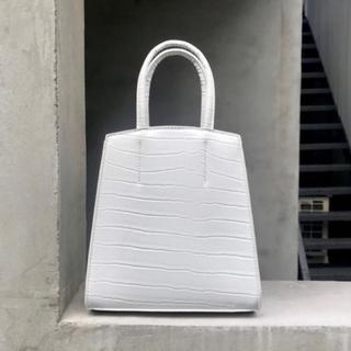 Kastane - 非売品 kastane ノベルティ 型押しバッグ ホワイト