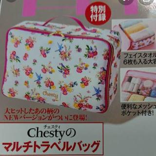 Chesty - chesty マルチトラベルバッグ 未使用