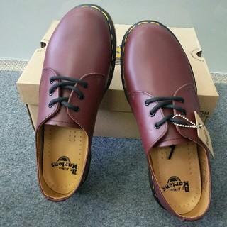 Dr.Martens - 正規品ドクターマーチン 男女兼用 3ホール 革靴 超美品 uk6