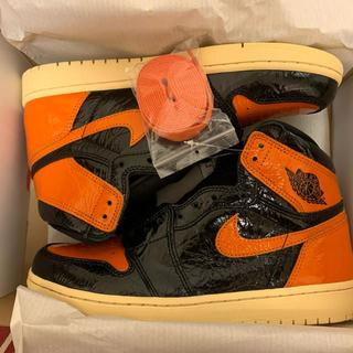 ナイキ(NIKE)のNIKE AIR JORDAN 1 SHATTERED BACKBOARD 3.(スニーカー)