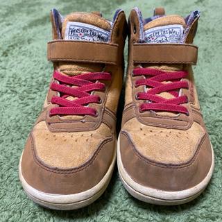 VANS ハイカット スニーカー 19センチ シューズ 靴