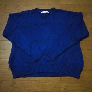 ブルーセーター(ニット/セーター)