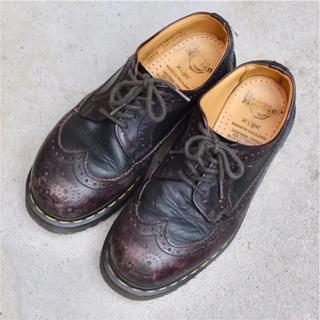 ドクターマーチン(Dr.Martens)のDr.Martin ウィングチップ レザーシューズ(ローファー/革靴)