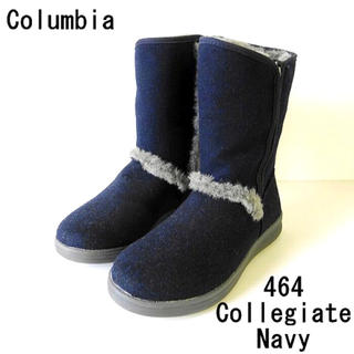 Columbia - 残り1点 新作 コロンビア レディース ベアフット ロング  ブーツ ネイビー