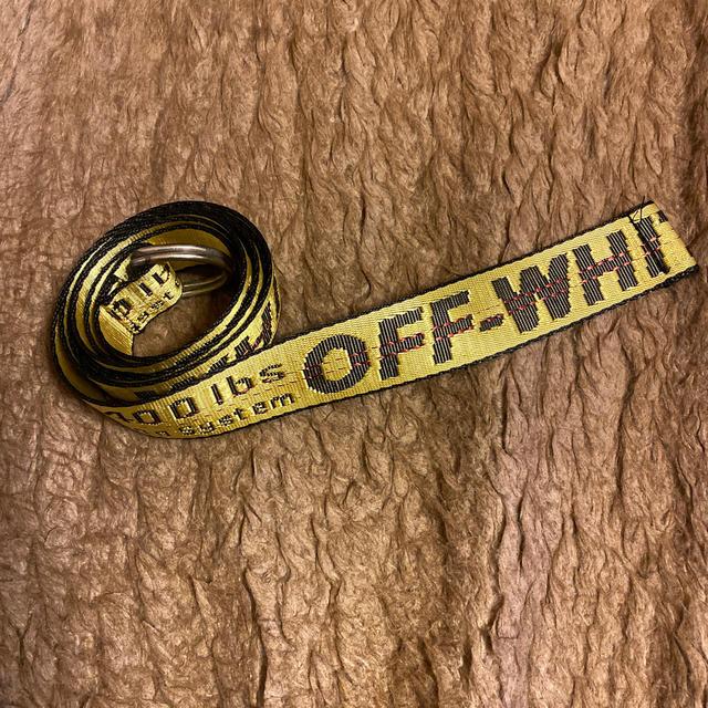 OFF-WHITE(オフホワイト)のOFF-WHITE ベルト メンズのファッション小物(ベルト)の商品写真