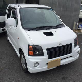 スズキ - ワゴンR RR 4WD ターボ 検査あり 走行少68400キロ