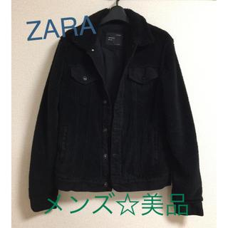 ZARA - ZARA  ザラ  メンズ  ボアジャケット☆