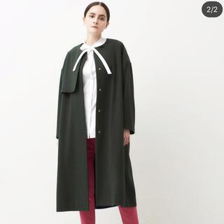 DEUXIEME CLASSE - yori 新品未使用 タグ付き コート ヨリ 2018 ウール アウター ジレ