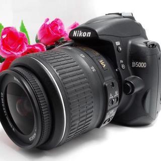 ニコン(Nikon)の【使いやすい!】手ぶれ補正♪Nikon ニコン D5000(デジタル一眼)