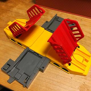 トミー(TOMMY)のモータートミカ プラレール 跳ね橋 廃盤品(電車のおもちゃ/車)