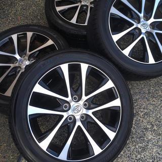 トヨタ - エスティマ 50 純正タイヤ、ホイールセット 美品 18インチ
