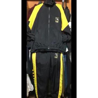 エクストララージ(XLARGE)の値段交渉ok エクストララージ ナイロンジャケット パンツ セットアップ 黄色 (ナイロンジャケット)