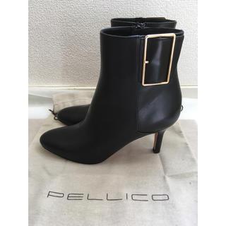 PELLICO - 美品 ペリーコ ブーツ ブラック 37.5