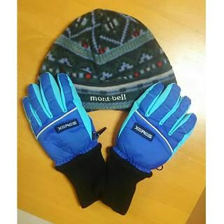 モンベル(mont bell)のキッズ 帽子&手袋(手袋)