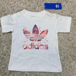 adidas - adidas アディダス Tシャツ 12M 80cm  タグ付き