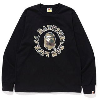 A BATHING APE - 激レアL!【 BAPE X BIG SEAN 】DON LIFE ロンT 新品