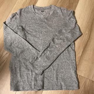 UNIQLO - UNIQLO ソフトタッチクルーネックTシャツ