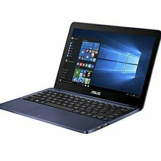 エイスース(ASUS)のASUS EeeBook X205TA-DBLUE10 Windows10(ノートPC)