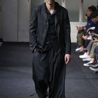 Yohji Yamamoto - フラップポケットジャケット 19ss look1