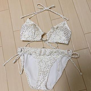 Victoria's Secret - ヴィクトリアシークレット 水着 ドット 白