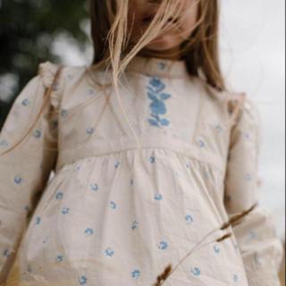 キャラメルベビー&チャイルド(Caramel baby&child )のapolina 2019aw ワンピース 2-3y(ワンピース)