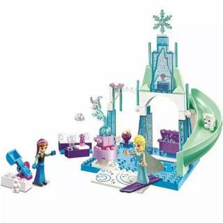 Disney - 新品 アナ雪 雪のお城セット