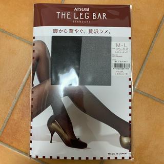 アツギ(Atsugi)のアツギ THE LEG BAR ラメストッキング(タイツ/ストッキング)