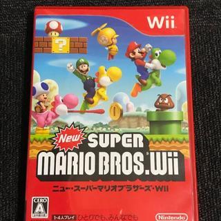 Wii - ニュースーパーマリオブラザーズ Wii ソフト