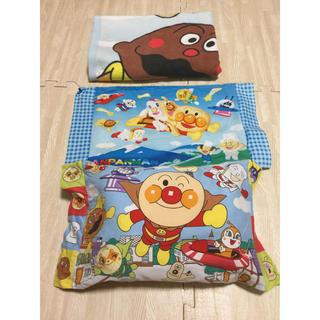 バンダイ(BANDAI)のアンパンマン タオルケット 布団 枕 セット(ベビー布団)