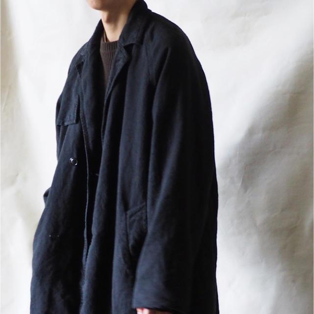 COMOLI(コモリ)の18aw 即完 nest robe CONFECT ミリタリーコート メンズのジャケット/アウター(ステンカラーコート)の商品写真