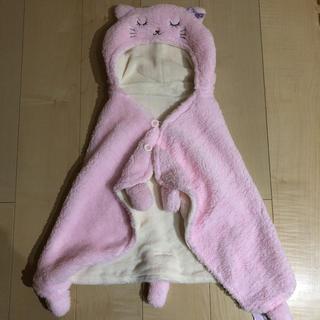 motherways - マザウェイズ  新品 ネコポンチョ 膝掛け おくるみ 枕 出産準備 出産祝い