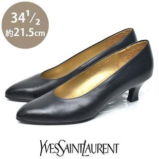 サンローラン(Saint Laurent)のイヴサンローラン アーモンドトゥ パンプス 34 1/2(約21.5cm)(ハイヒール/パンプス)