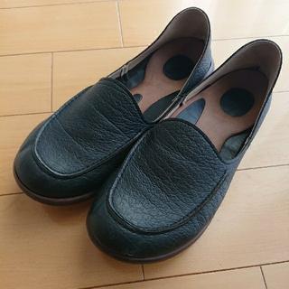 リゲッタ(Re:getA)のリゲッタ ドライビングローファー♪サイズLL♪ブラック♪(ローファー/革靴)