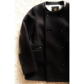 ドゥロワー(Drawer)のDrawer ブラック コート Pコート サイズ38(ピーコート)