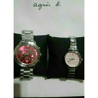 アニエスベー(agnes b.)のアニエスベーペア腕時計(腕時計)