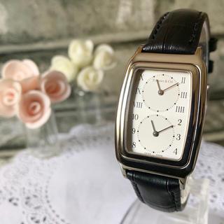 Tiffany & Co. - 【電池交換済み】TIFFANY&Co ティファニー 腕時計 デュアルタイム