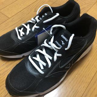 ミズノ(MIZUNO)のMIZUNO(ブラック)【Men's/27.0/新品】(スニーカー)