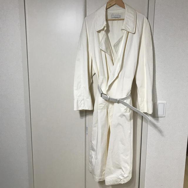 DRIES VAN NOTEN(ドリスヴァンノッテン)のjeanpaul knott オーバーコート  メンズのジャケット/アウター(トレンチコート)の商品写真