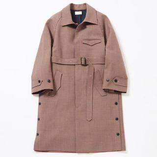 サンシー(SUNSEA)のRYO TAKASHIMA Side slit balmacaan coat M(ステンカラーコート)